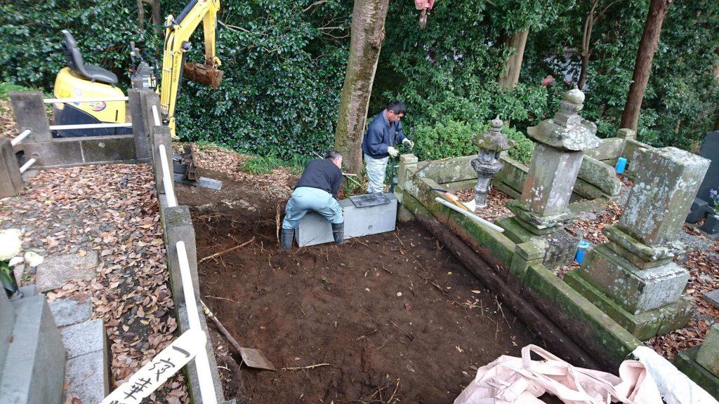 建立例:96 総本小松石 洋型墓石(神奈川県 厚木市)13