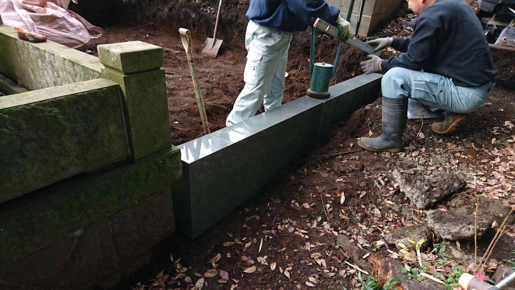 建立例:96 総本小松石 洋型墓石(神奈川県 厚木市)14