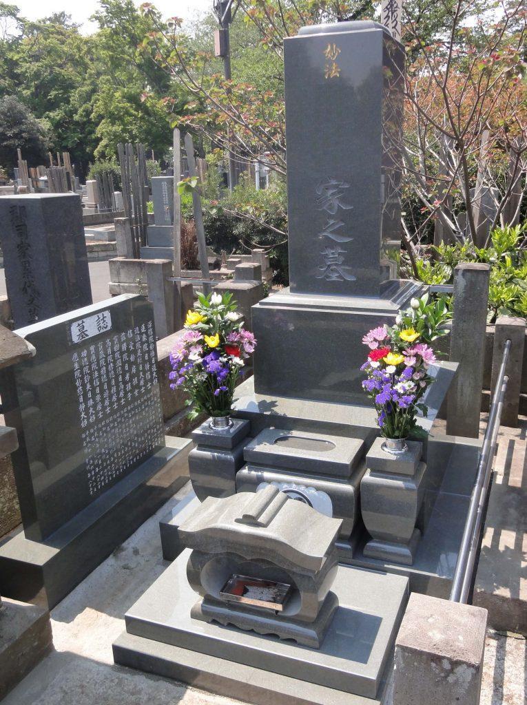 本小松石 和型墓石 2017030412
