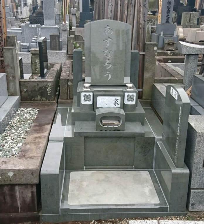 本小松石墓石 洋型2017031801