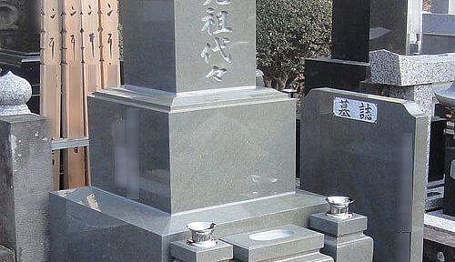 本小松石 和型墓石 2017030406