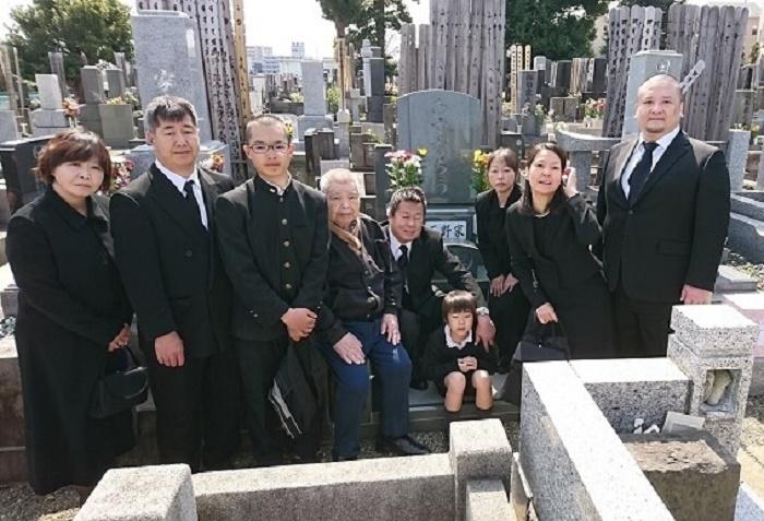 本小松石墓石(千葉県船橋市)2017042903