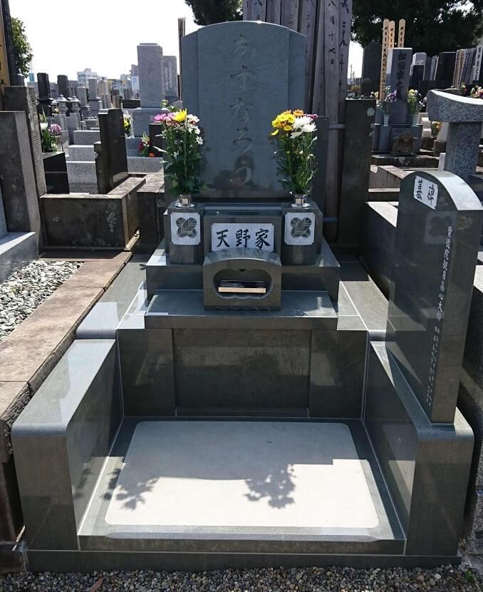本小松石墓石(千葉県船橋市)2017042902