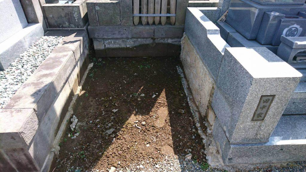 本小松石洋型墓石 2017040403