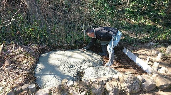 本小松石墓石2017041606