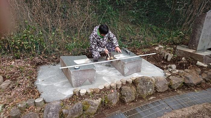 本小松石墓石2017041612