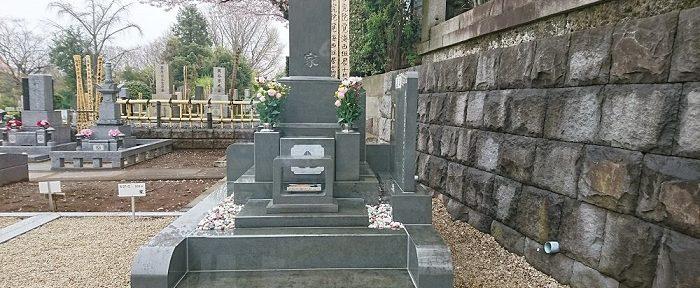 本小松石墓石2017042301