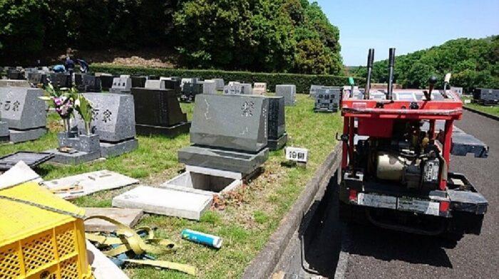 八王子霊園 本小松石洋型墓石 2017051509