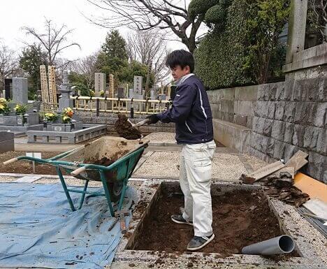 本小松石墓石20170504