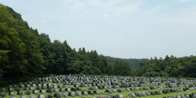 八王子霊園 墓石 本小松石