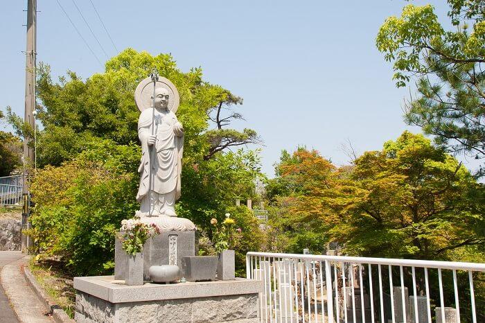 本小松石墓石 鵯越墓園18