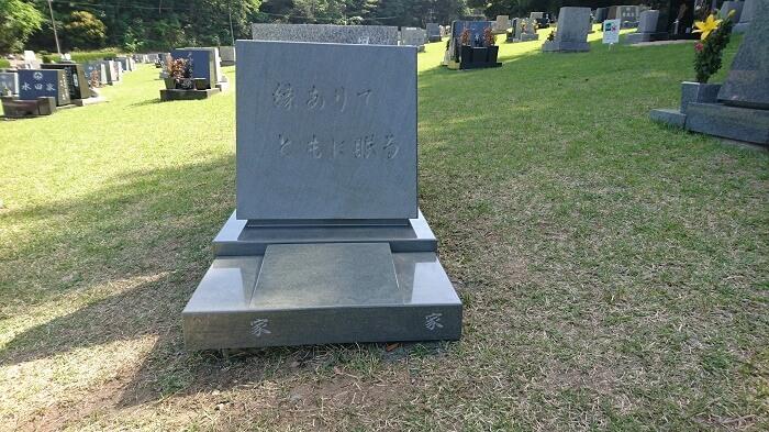 本小松石墓石 鵯越墓園2