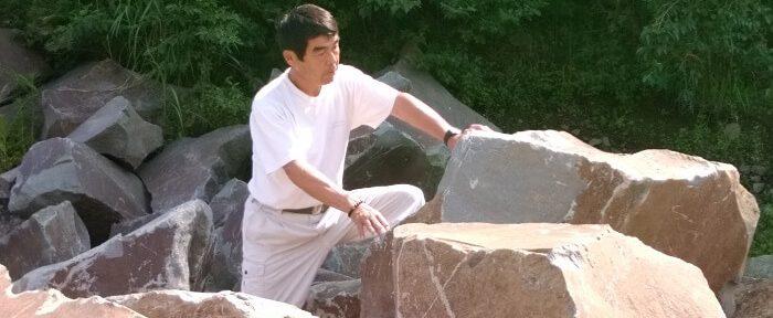 本小松石墓石 丁場(採石場)2