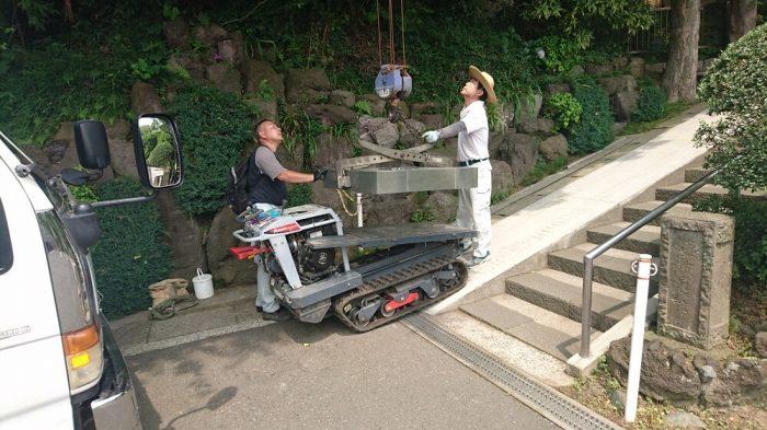 本小松石墓石 和型墓石 神奈川県横浜市 3