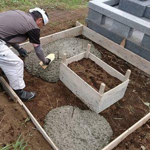 本小松石墓石 国産墓石 和型墓石 2017081606