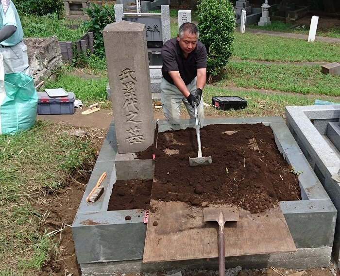 本小松石墓石 国産墓石 和型墓石 2017081702