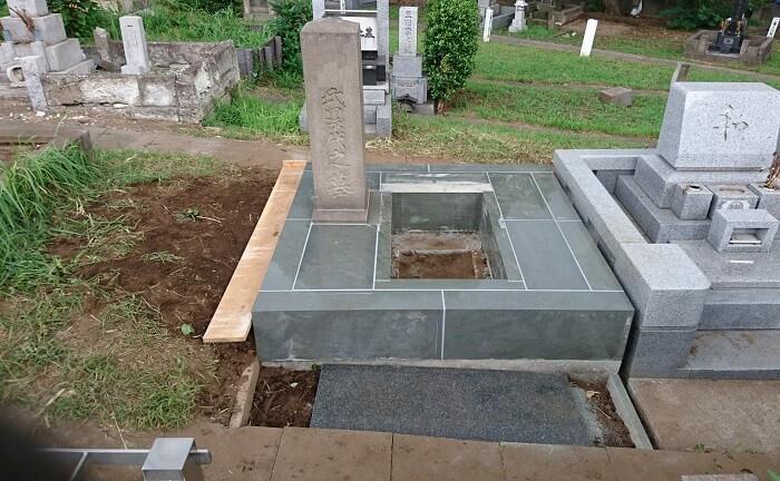 本小松石墓石 国産墓石 和型墓石 2017081704