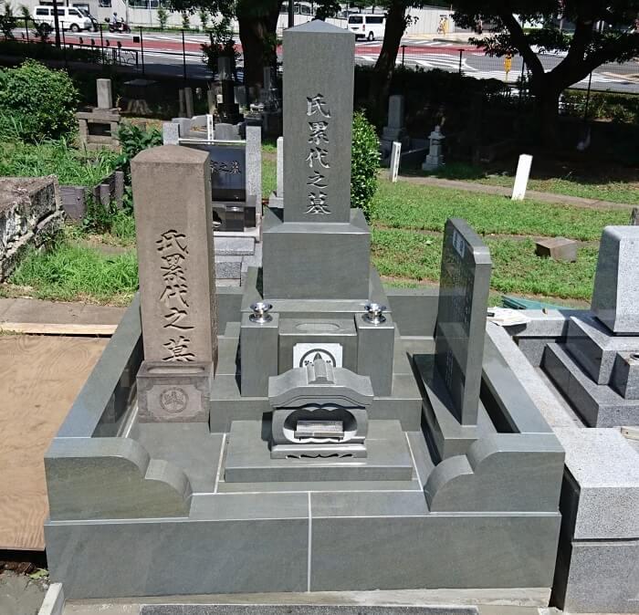 本小松石墓石 国産墓石 和型墓石 2017081301