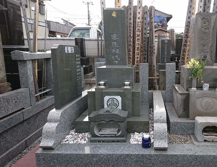 本小松石墓石 国産墓石 和型墓石 2017100701