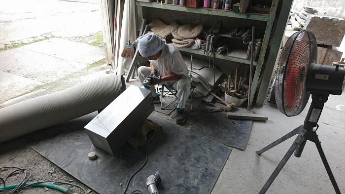 墓石 本小松石和型墓石 千葉県船橋市 2017111102