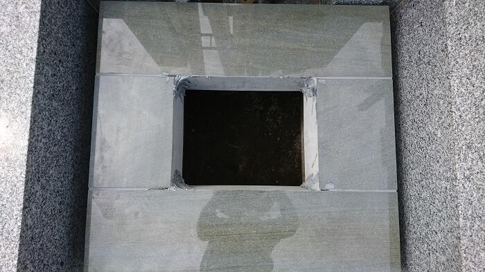 墓石 本小松石和型墓石 千葉県船橋市 2017111104