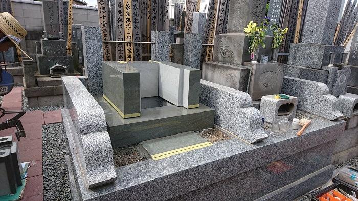 墓石 本小松石和型墓石 千葉県船橋市 2017111106