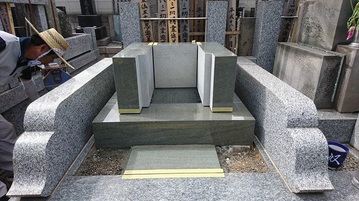 墓石 本小松石和型墓石 千葉県船橋市 2017111107