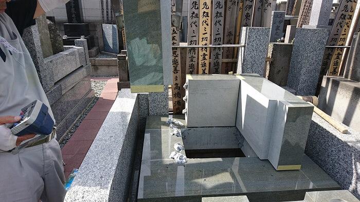 墓石 本小松石和型墓石 千葉県船橋市 2017111108