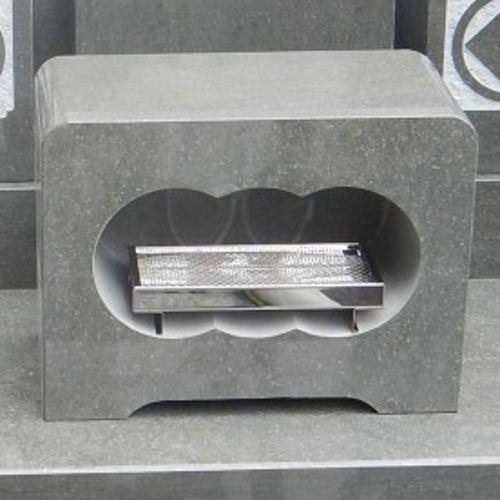 墓石 国産墓石 本小松石墓石 香炉角型