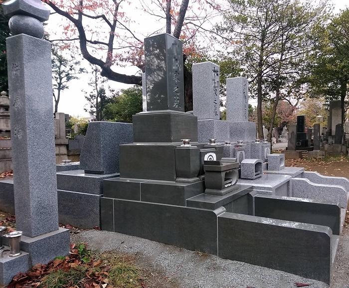 墓石 国産墓石 本小松石和型墓石 2018012910