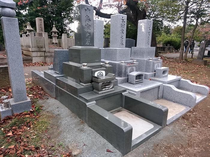 墓石 国産墓石 本小松石和型墓石 2018012908