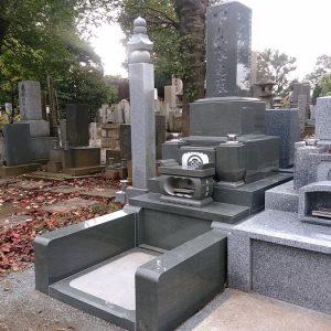 墓石 国産墓石 本小松石和型墓石 2018012904