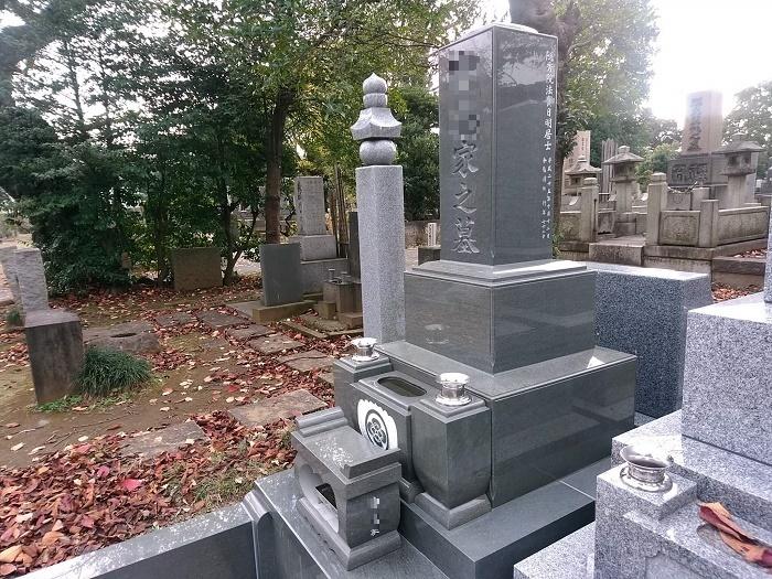 墓石 国産墓石 本小松石和型墓石 2018012902