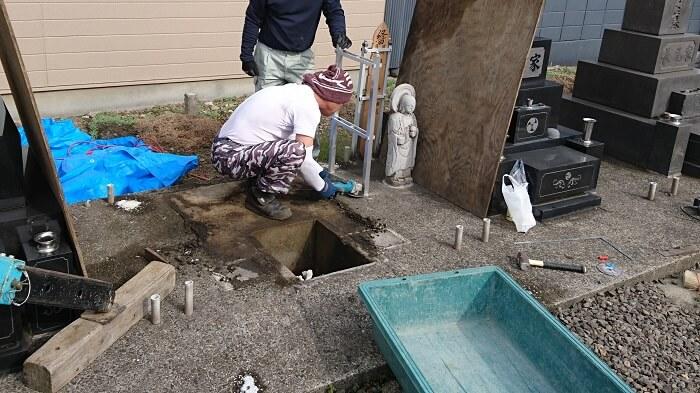 墓石 国産墓石 本小松石 和型墓石2018011603