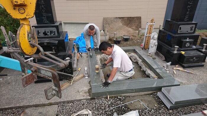 墓石 国産墓石 本小松石 和型墓石2018011607