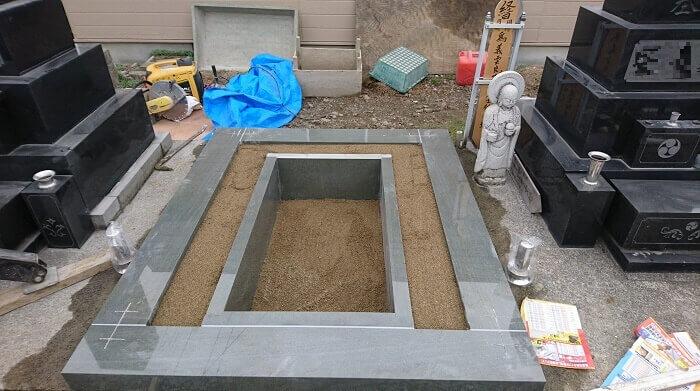墓石 国産墓石 本小松石 和型墓石2018011609