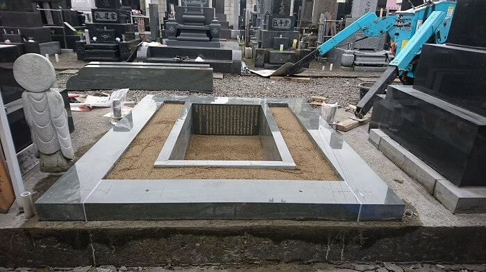 墓石 国産墓石 本小松石 和型墓石2018011610