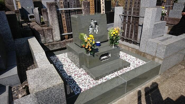 墓石 本小松石 和型墓石 横浜市 2018040803