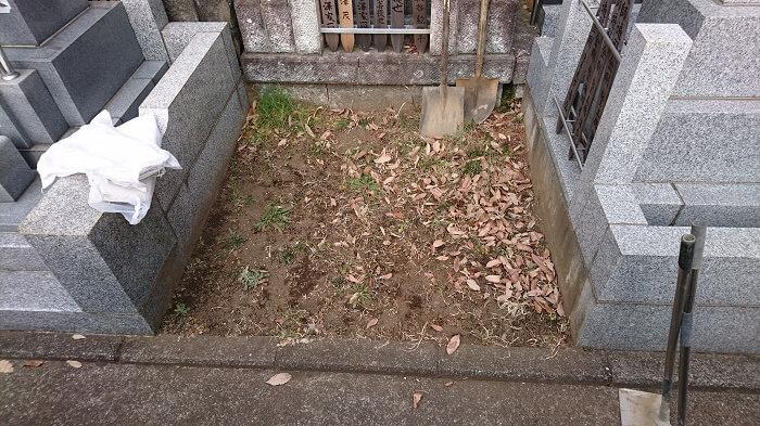 墓石 本小松石 和型墓石 横浜市 2018040804