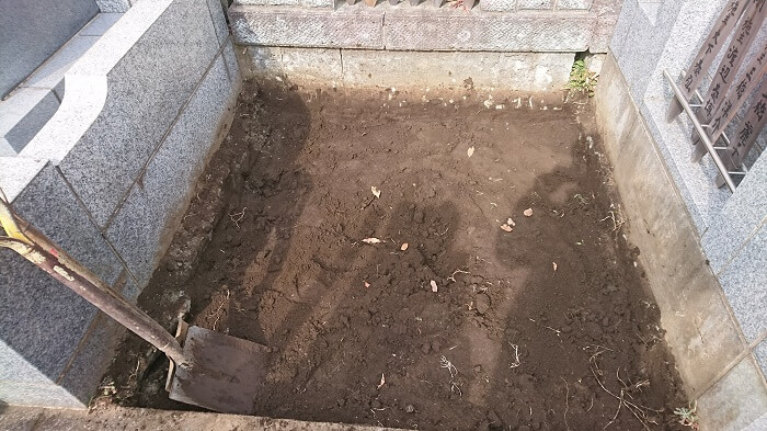墓石 本小松石 和型墓石 横浜市 2018040805
