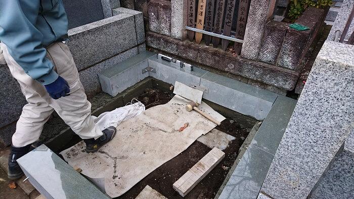 墓石 本小松石 和型墓石 横浜市 2018040812