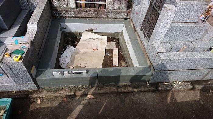 墓石 本小松石 和型墓石 横浜市 2018040802