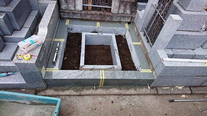 墓石 本小松石 和型墓石 横浜市 2018040816