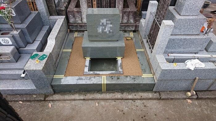 墓石 本小松石 和型墓石 横浜市 2018040822