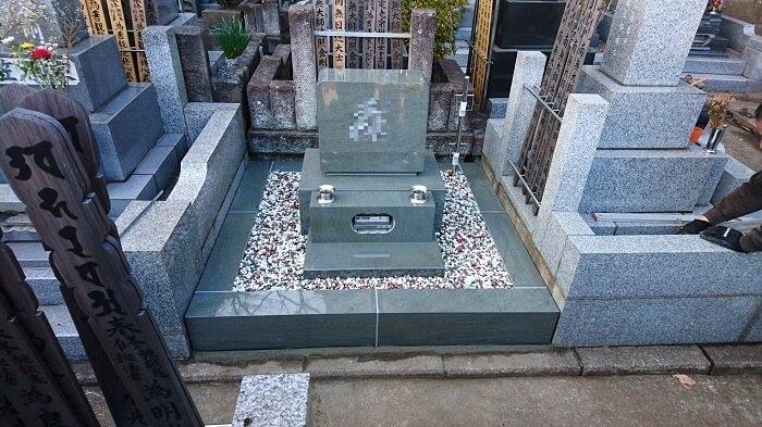 墓石 本小松石 和型墓石 横浜市 2018040824