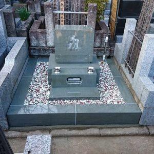 墓石 本小松石 和型墓石 横浜市 2018040801
