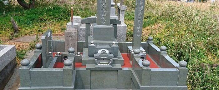 本小松石墓石 和型墓石 五輪塔 2018042902