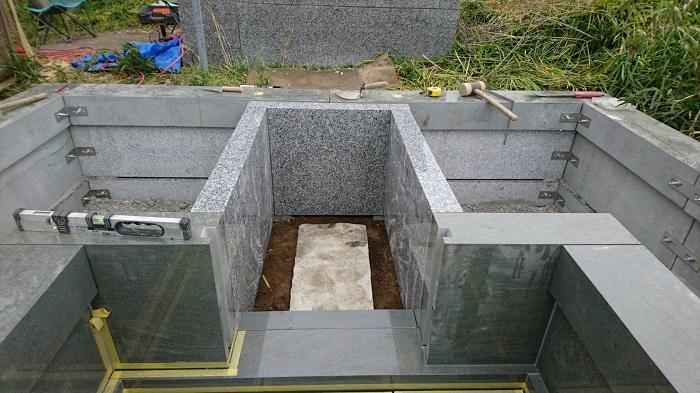 墓石 本小松石墓石 2018050608