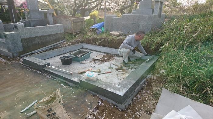 墓石 本小松石墓石 2018050602