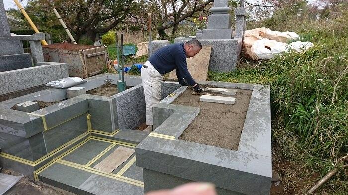 墓石 本小松石墓石 2018050609